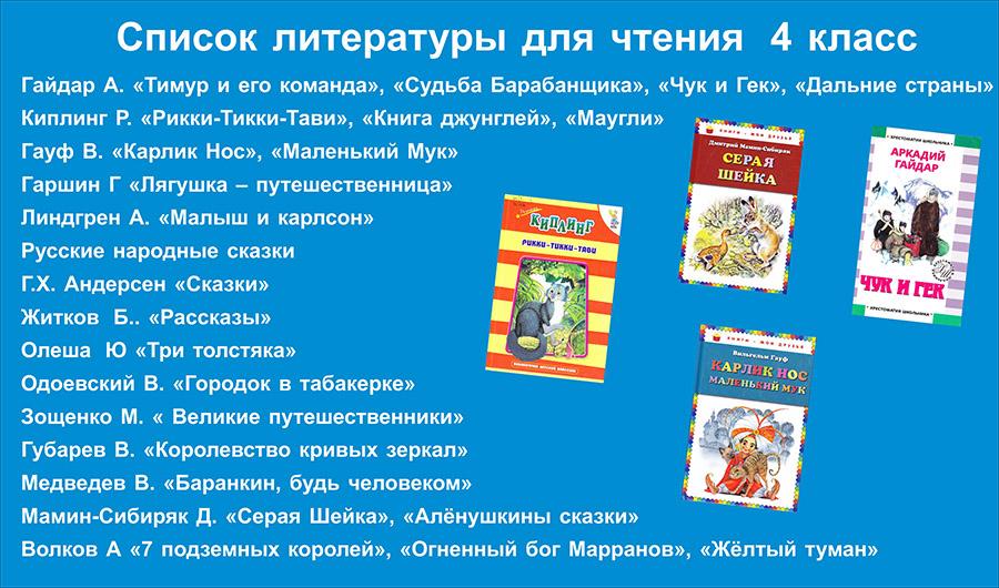 Внеклассное чтение 5