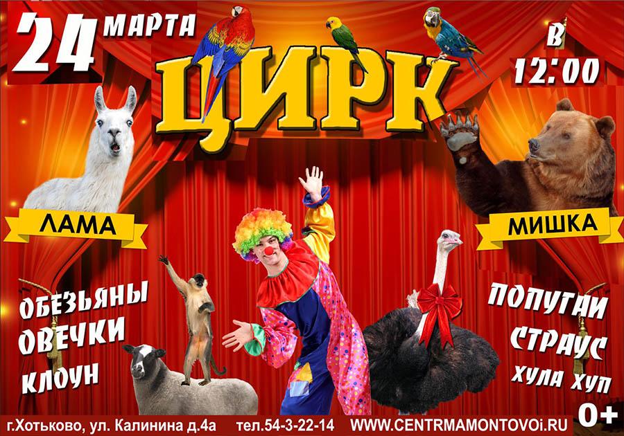 Цир в Хотьково