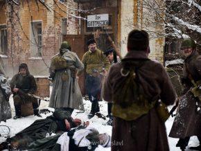 Реконструкция обороны Дома Павлова